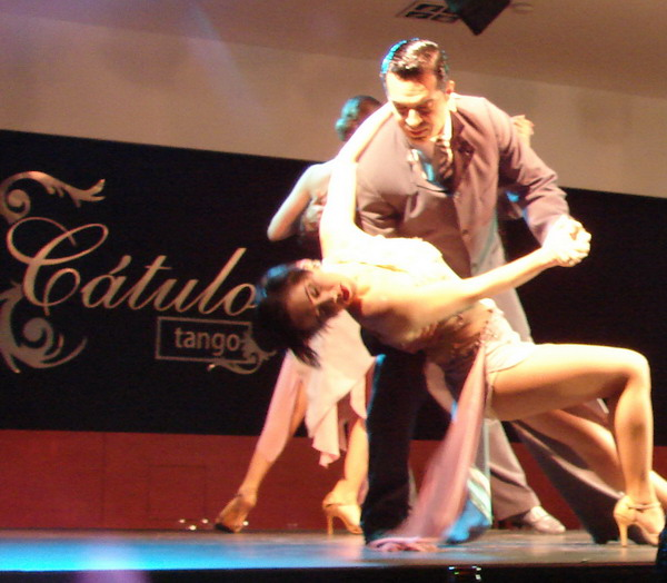 Catulo Tango show Tango couple